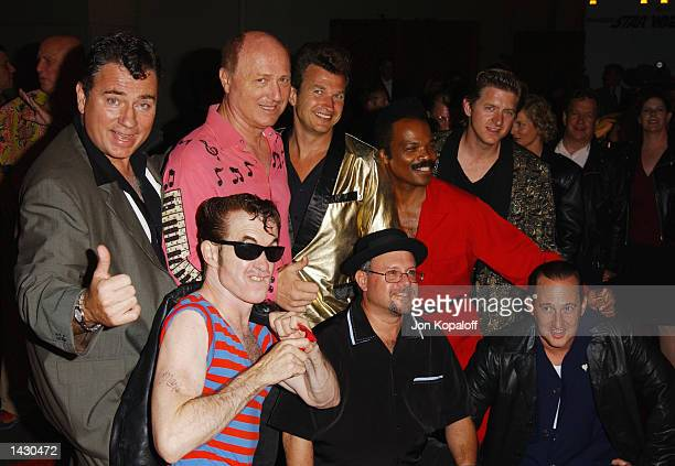 Musical group Sha Na Na from the movie Grease attend the Celebration of Paramount Studio's 90th Anniversary with the release of six alltime musical...