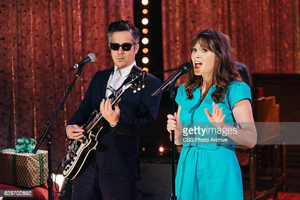 Musical guest She Him performs during The Late Late Show with James Corden Monday December 12 2016 On The CBS Television Network