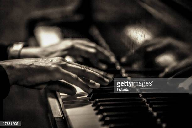 musical hands - jazz stock pictures, royalty-free photos & images