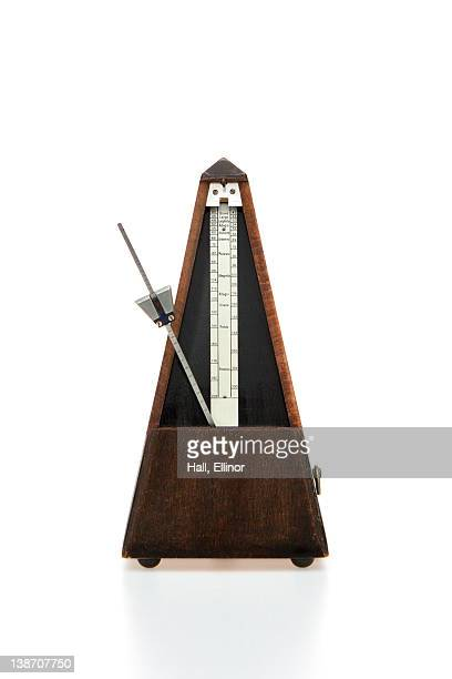 Musical instrument on white background