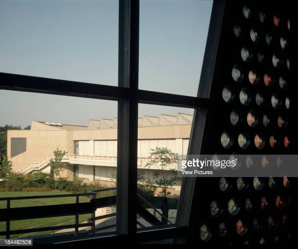 Musical Instruments Museum Berlin Germany Architect Hans Scharoun Musical Instruments Museum Exterior From Philharmonie With Glass Lenses