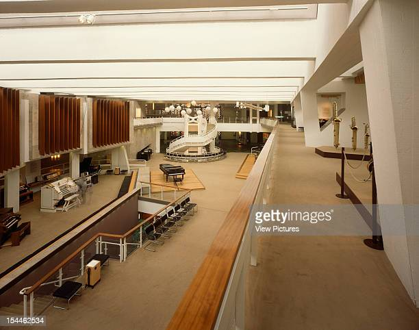 Musical Instruments Museum Berlin Germany Architect Hans Scharoun Musical Instruments Museum Interior