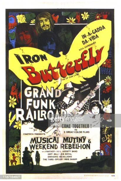 Iron Butterfly Grand Funk Railroad 1970