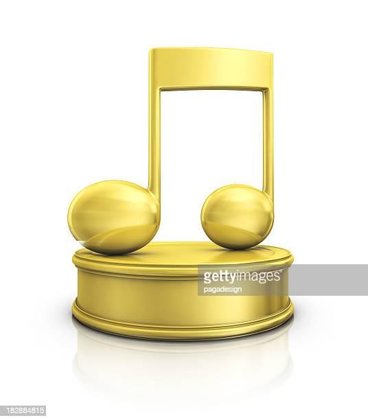 musical note award