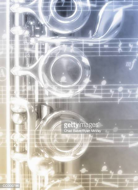 Musical Notes and Clarinet Valves