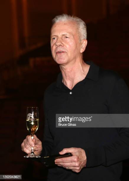 Musical Supervisor David Caddick during a toast for the 32nd Anniversary Performance and Party for The Phantom of The Opera on Broadway at The...