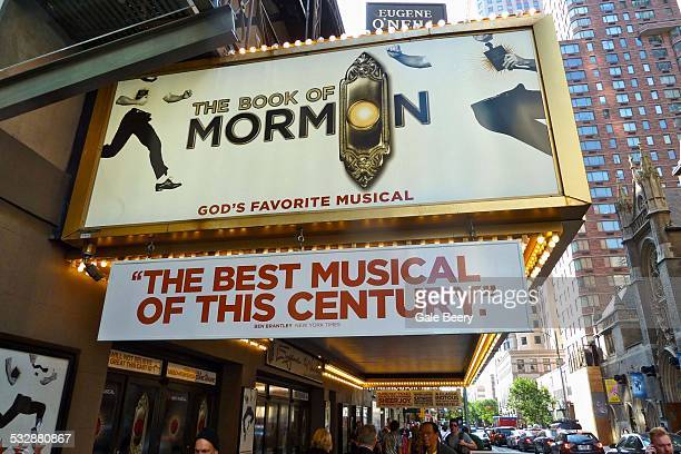 Musical theatre culture Broadway New York City Book of Mormon