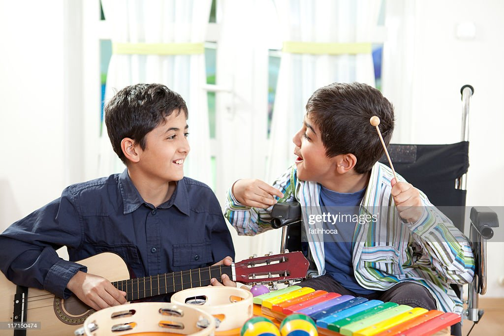 Musical Therapy : Stock Photo