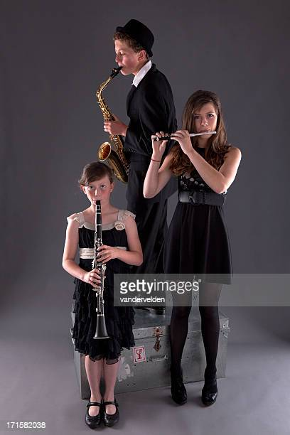 Musical Trio Of Woodwinds