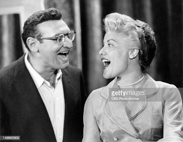 CBS musical variety show Frankie Laine Time Frankie Laine and Patti Page Image dated August 1 1956