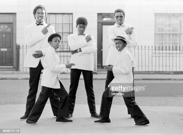Musical Youth, British Jamaican pop / reggae group, who are currently recording the video for their lastest single titled '007', pictured 10th...