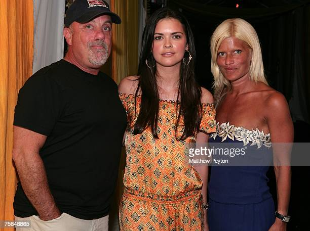 Musican Billy Joel his wife Katie Lee Joel and publicist Lizzie Grubman arrive at Hampton Social @ Ross to watch a concert by Dave Matthews Band Tim...