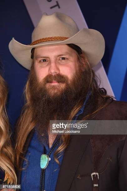 Musican Chris Stapleton attend the 51st annual CMA Awards at the Bridgestone Arena on November 8 2017 in Nashville Tennessee