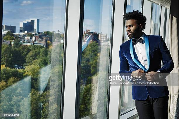 Musican Jason Derulo is photographed for Forbes Magazine on October 17 2016 in New York City CREDIT MUST READ Jamel Toppin/The Forbes...