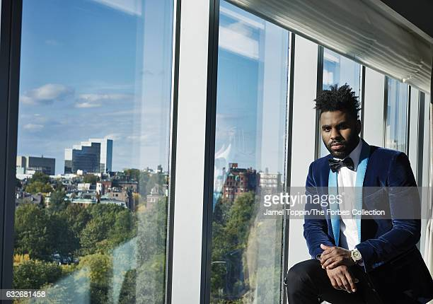 Musican Jason Derulo is photographed for Forbes Magazine on October 17 2016 in New York City PUBLISHED IMAGE CREDIT MUST READ Jamel Toppin/The Forbes...
