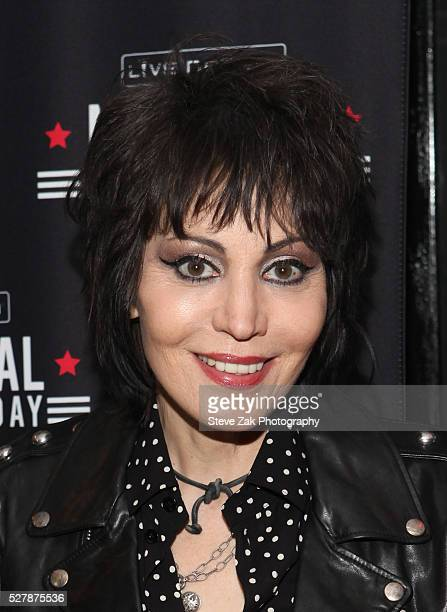 Musican Joan Jett attends 2nd Annual National Concert Day Show at Irving Plaza on May 3 2016 in New York City
