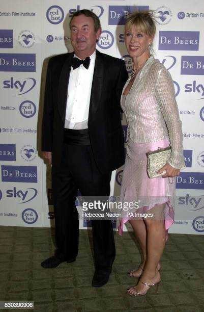 Musican Nick Mason from the group Pink Floyd arrives at London's Dorchester Hotel to attend a charity dinner held in honour of actress Dame Elizabeth...