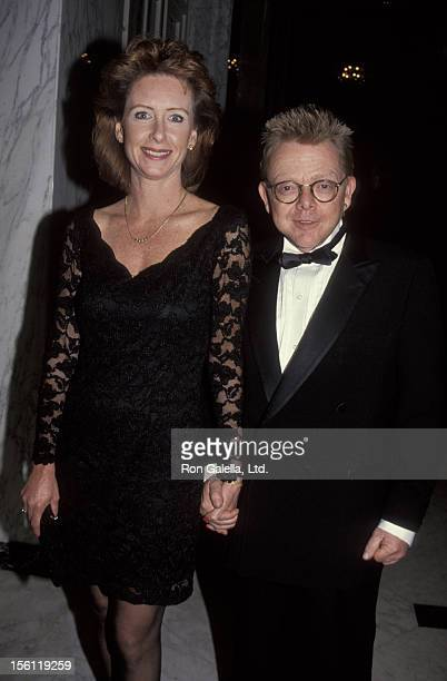 Musican Paul Williams and wife Hilda Wynn attending 'Angel Night Benefit Gala' on February 9 1992 at the Beverly Wilshire Hotel in Beverly Hills...