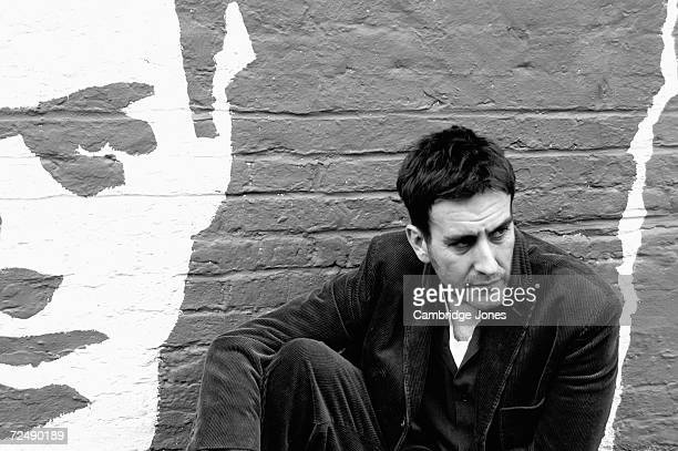 Musican Terry Hall poses while at Cargo in HoxtonLondonEngland on the 9th of December 2004