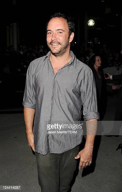 Musican/actor Dave Mathews arrives at Ides Of March Premiere at Roy Thomson Hall during the 2011 Toronto International Film Festival on September 9...