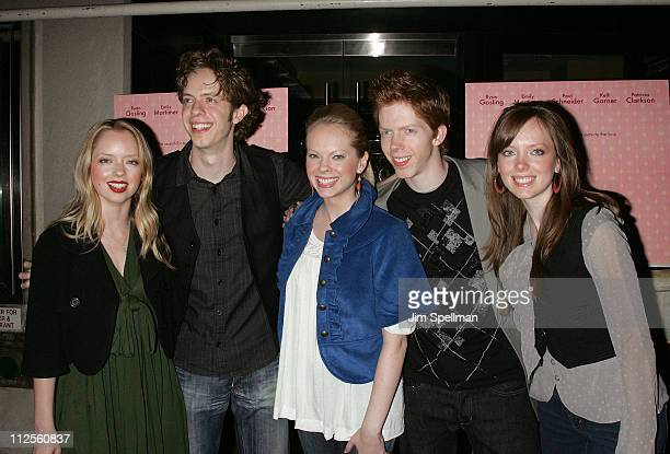 Musicans The 5 Browns arrive at 'Lars and the Real Girl' premiere at the Paris Theater on October 3 2007 in New York City