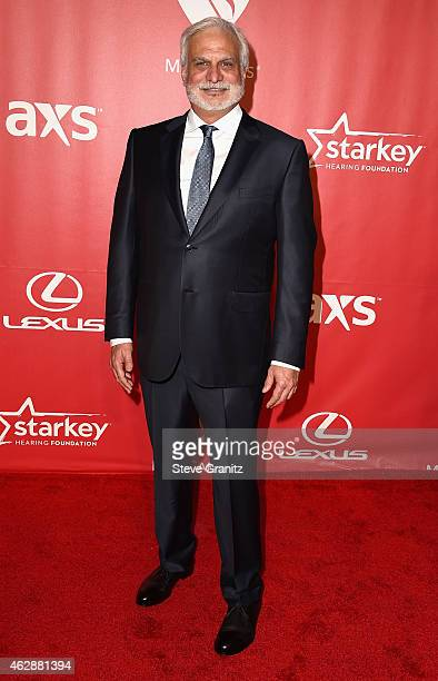 MusiCares Board of Directors Chair Bill Silva attends the 25th anniversary MusiCares 2015 Person Of The Year Gala honoring Bob Dylan at the Los...