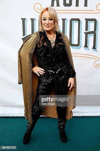 Musicial artist Tanya Tucker attends the 10th Annual ACM Honors at the Ryman Auditorium on August 30 2016 in Nashville Tennessee