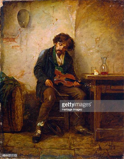 'A Musician' 1876 Found in the collection of the Regional A Deineka Art Gallery Kursk Russia