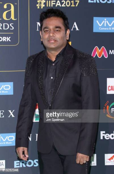 Musician A R Rahman attends the 2017 International Indian Film Academy Festival at MetLife Stadium on July 14 2017 in East Rutherford New Jersey