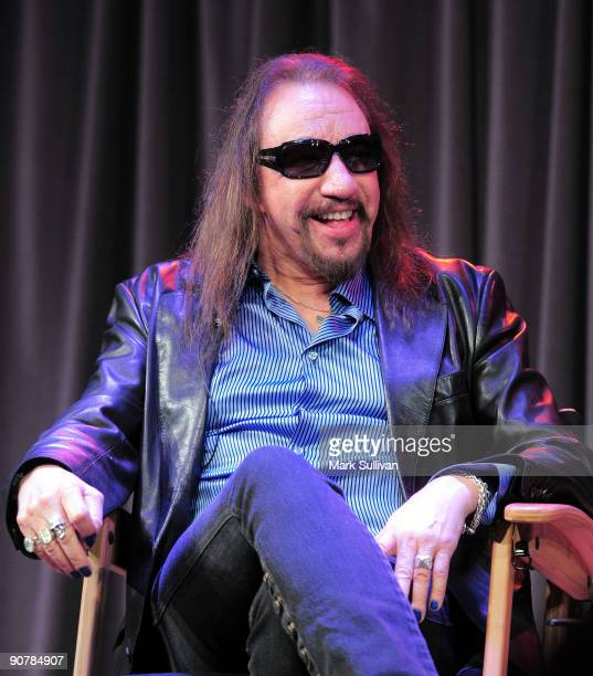 Musician Ace Frehley at The Grammy Museum on September 14 2009 in Los Angeles California