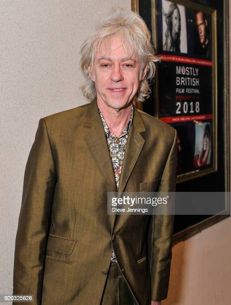 Musician Activist Sir Bob Geldof attends the Mostly British Film Festival for the screening of 'A Fanatic Heart' at Vogue Theatre on February 18 2018...