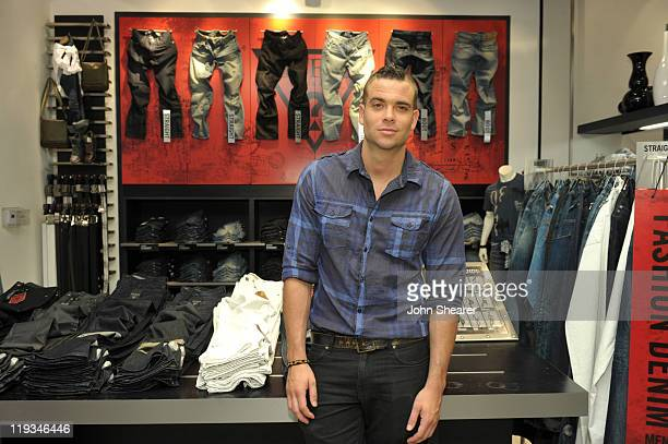 Musician/ Actor Mark Salling poses for a photo before signing copies of Pipe Dreams at GUESS on July 18 2011 in Los Angeles California