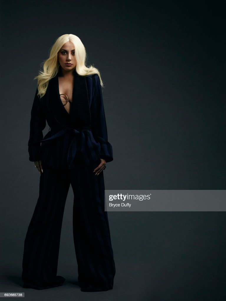 Musician, actress Lady Gaga photographed for Variety on April 10, 2016, in Los Angeles, California.