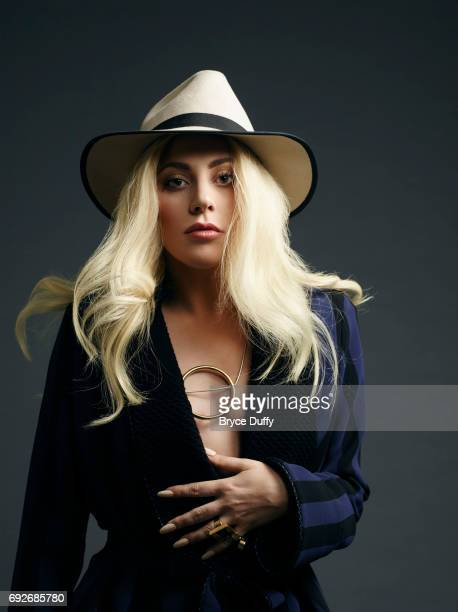 Musician actress Lady Gaga photographed for Variety on April 10 in Los Angeles California