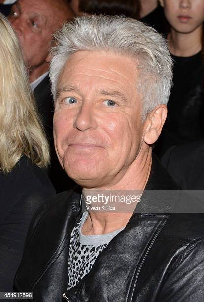 Musician Adam Clayton attends the Edun fashion show during MercedesBenz Fashion Week Spring 2015 at Skylight Modern on September 7 2014 in New York...