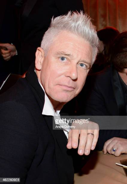 Musician Adam Clayton of U2 attends The Weinstein Company Netflix's 2014 Golden Globes After Party presented by Bombardier FIJI Water Lexus Laura...