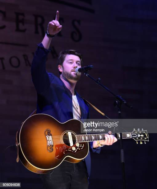 Musician Adam Doleac performs at War Memorial Auditorium on March 1 2018 in Nashville Tennessee