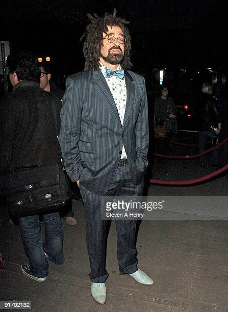 """Musician Adam Duritz attends the premiere of """"Dare"""" during the 17th Annual Hamptons International Film Festival at United Artists Regal Cinema on..."""