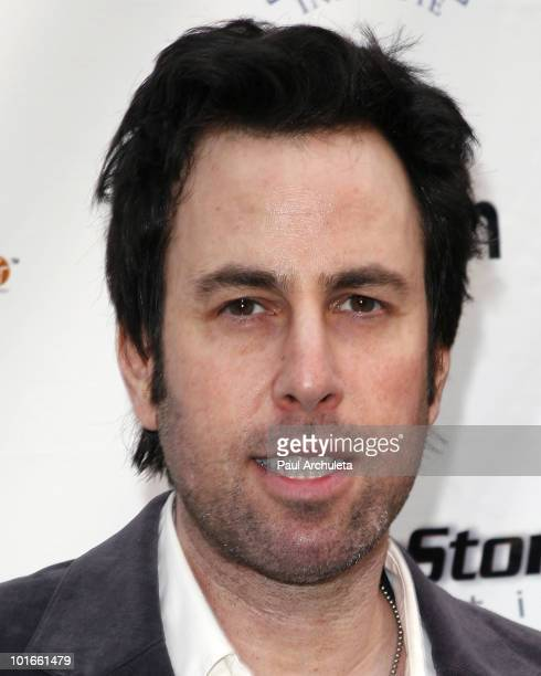 Musician Adam Gaynor arrives at the 1st annual My Ocean Planet fundraiser benefitting project Kaisei at The Malibu Lumber Yard on June 5 2010 in...