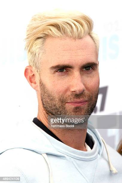 Musician Adam Levine of Maroon 5 attends the 1027 KIIS FM's 2014 Wango Tango held at the StubHub Center on May 10 2014 in Los Angeles California