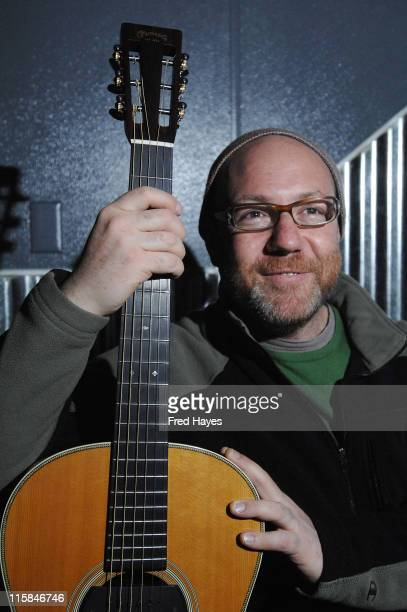 Musician Adam Levy attends the Music Cafe during the 2008 Sundance Film Festival on January 24 2008 in Park City Utah
