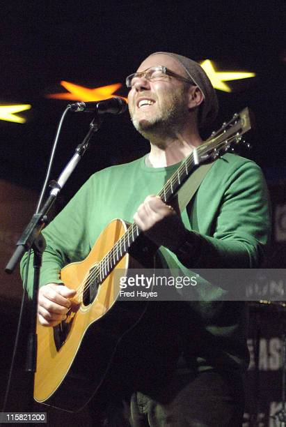 Musician Adam Levy performs at the Music Cafe during the 2008 Sundance Film Festival on January 24 2008 in Park City Utah