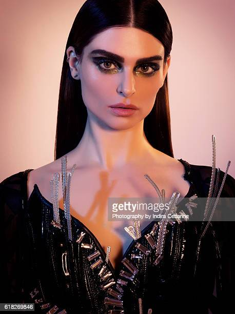 Musician Aimee Osbourne aka ARO is photographed for The Untitled Magazine on March 31 2015 in New York City CREDIT MUST READ Indira Cesarine/The...