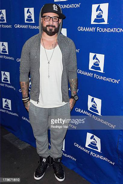 Musician AJ McLean of the Backstreet Boys attends the 9th Annual GRAMMY Camp The GRAMMY Foundation's Signature Music Industry Camp For US High School...