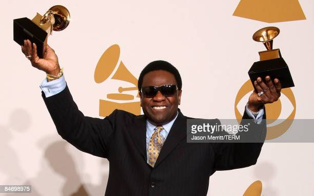 Musician Al Green winner of two awards Best RB Performance By A Duo of Group With Vocals for 'Stay With Me' and Best Traditional RB Vocal Performance...