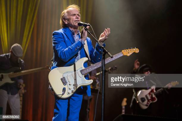 Musician Al Jardine performs at Brian Wilson presents Pet Sounds The Final Performances at San Diego Civic Theatre on May 24 2017 in San Diego...