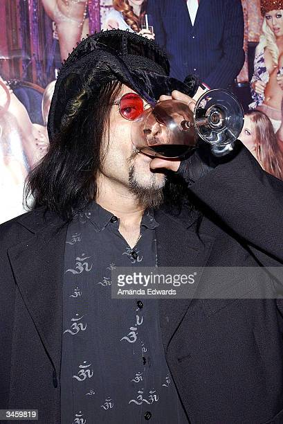 Musician Al Jourgensen arrives at the record release party for Gene Simmons' 'Asshole' on April 22 2004 at the Key Club in West Hollywood California
