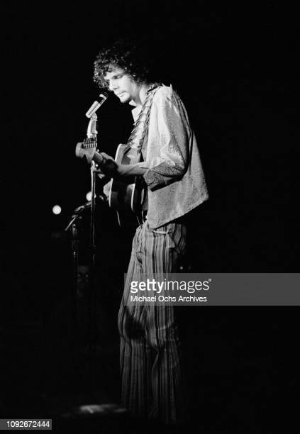 Musician Al Kooper of American band The Blues Project in concert at the Cafe Au Go Go a nightclub in Greenwich Village New York City circa 1968