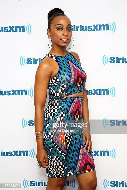 Musician Alaine Laughton visits the SiriusXM Studios on June 15 2015 in New York City