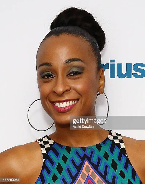 Musician Alaine Laughton visits the SiriusXM Studios on June 15 2015 in New York City